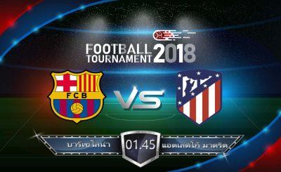 วิเคราะห์ฟุตบอล ลาลีก้า สเปน : บาร์เซโลน่า VS แอตเลติโก้ มาดริด